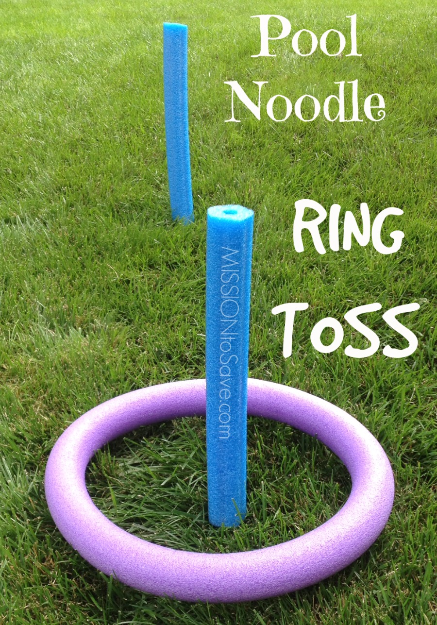 Pool Noodle Games- No Water Needed! (Alternative Uses for Pool Noodles Post) - Mission: to Save