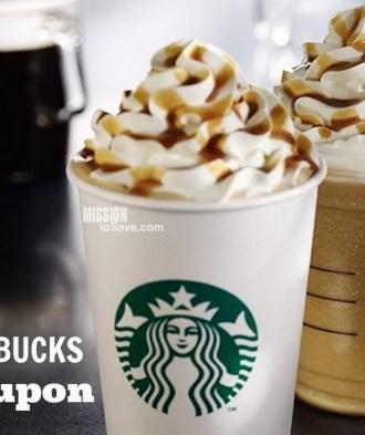 Starbucks Groupon 50% Off