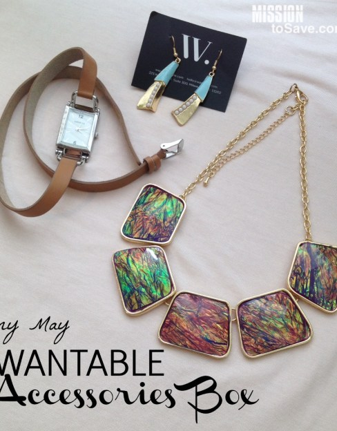wantable accessories box- surprising fashion inside