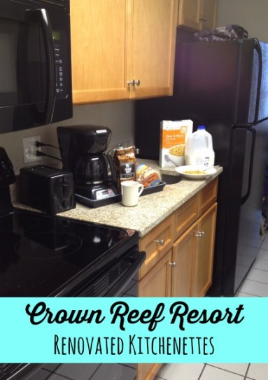 Crown Reef Renovated Kitchenettes