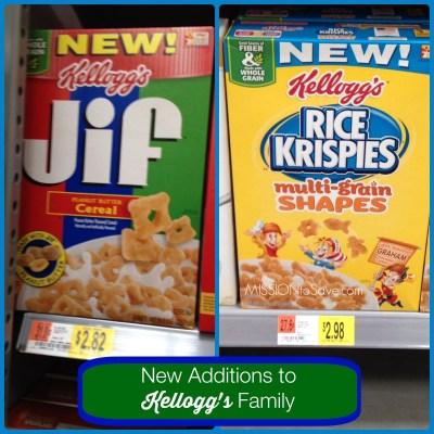 New Kellogg's Cereal at Walmart
