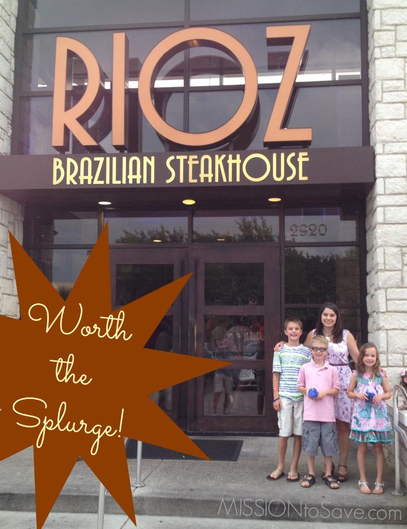 photo about Rioz Brazilian Steakhouse Printable Coupons named Rioz Brazilian Steakhouse Myrtle Seashore- Value the Splurge