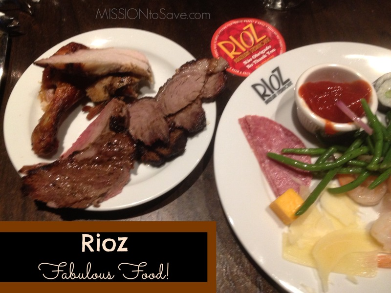 image relating to Rioz Brazilian Steakhouse Printable Coupons referred to as Rioz Brazilian Steakhouse Myrtle Seaside- Well worth the Splurge