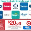 *HOT* Target Baby Items Coupon: $20 Off $100 Purchase