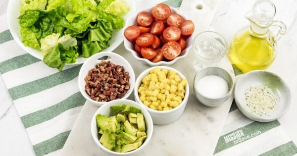 Cobb Salad recipe ingredients