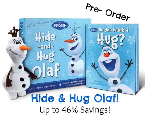 Pre-order Hide and Hug Olaf for up to 46% Savings!