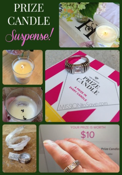 Oh the Prize Candle Suspense!