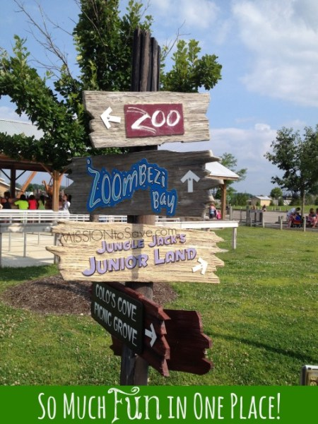 Zoombezi Bay and the Columbus Zoo