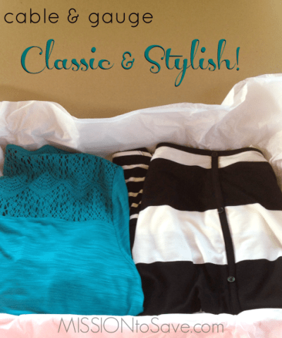 cable & gauge Classic and Stylish fashion for real mom style!