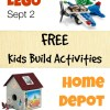 Free LEGO Mini Build and Home Depot Wizard of Oz Kids Build this Week