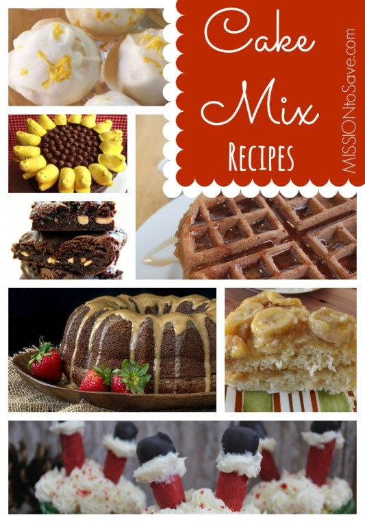 boxed cake mix recipes