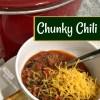Chunky Crockpot Chili Recipe