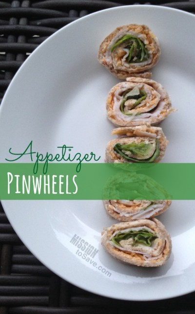 Easy Appetizer Pinwheels for your next party!