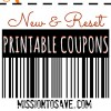 Lots of New Printable Coupons! Print Now!