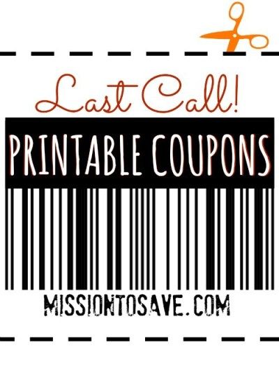 Printable Coupons Last Day