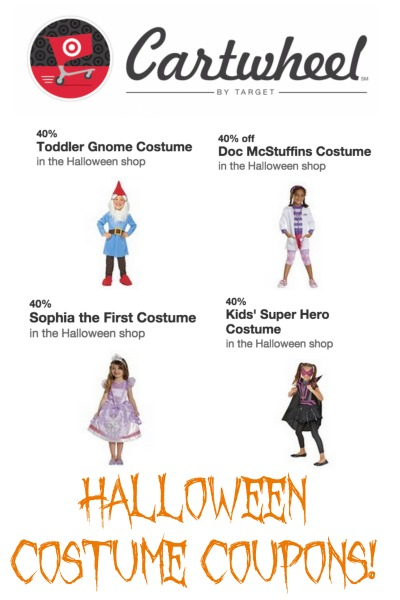 target cartwheel halloween costume coupons