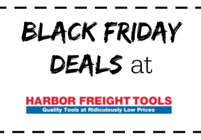 Black Friday Harbor Freight