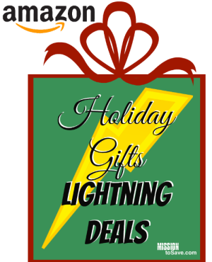 Check out the latest Holiday Gifts Lightning Deals on Amazon.