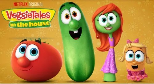 VeggieTales in the house on Netflix