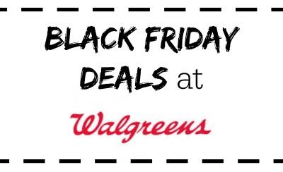 Walgreens Black Friday