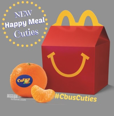 McDonald's Happy Meal Cuties