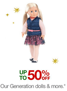 Our Generation Dolls & Accessories Discounts at Target