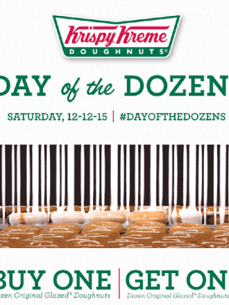 Krispy Kreme Day of the Dozens, Krispy Kreme Coupon