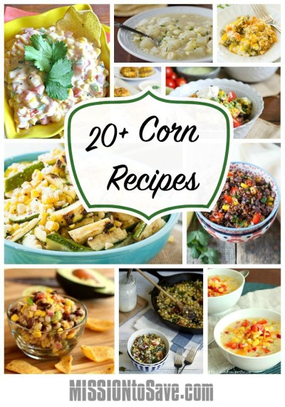 pictures of corn recipes