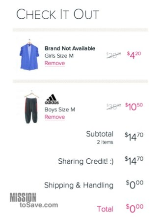 Get up to $20 of Free clothes from Schoola when you combine referral credit, $5 off code and free shipping!