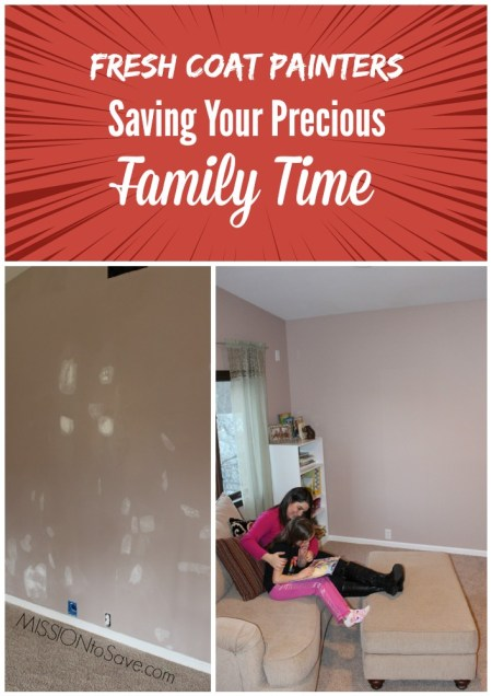 Fresh Coat Painters Saving Your Precious  Family Time
