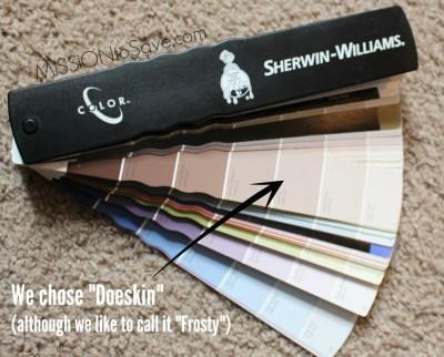 Fresh Coat Painters use Sherwin Williams Paint