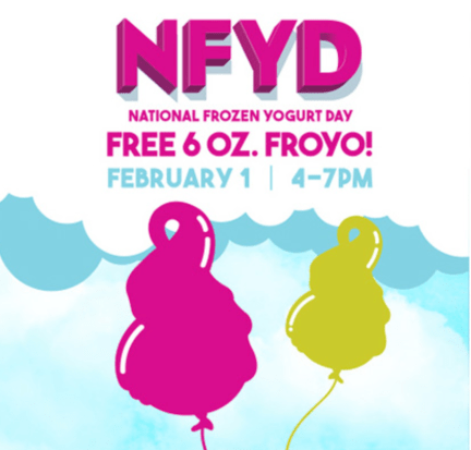 Free Menchie's FroYo on National Frozen Yogurt Day