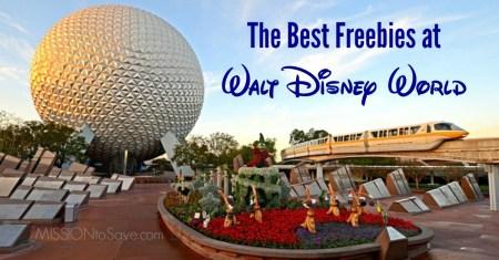 The Best Freebies at Walt Disney World (fb)
