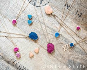 cents of style druzy jewelry