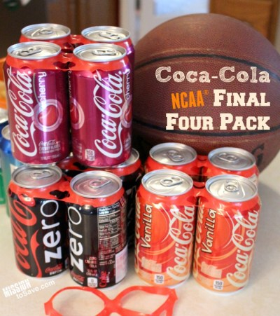 Coca Cola NCAA Final Four Pack at Walmart