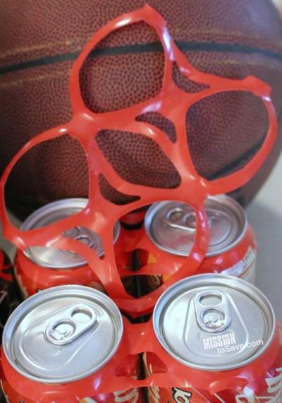 Coca Cola packaging rings