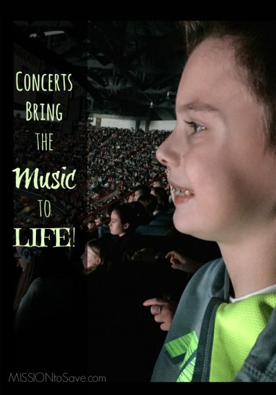 Concerts bring the music to life