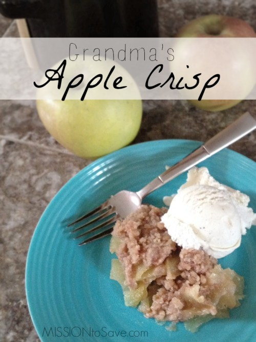 This yummy recipe has been passed down for years in my family. Try my Grandma's Apple Crisp today!