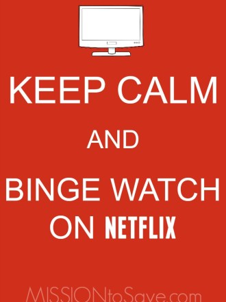 Keep Calm and Binge Watch on Netflix! ;) Check out some of my fave TV series to watch on Netflix (titles from then and now)