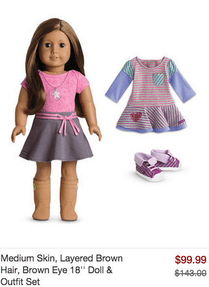 American Girl Doll Sale on Zulily!