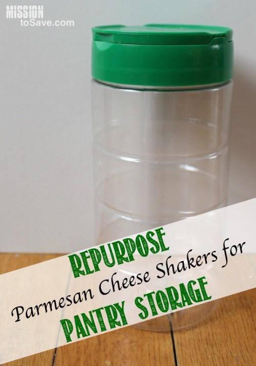 repurposed parmesan cheese shakers
