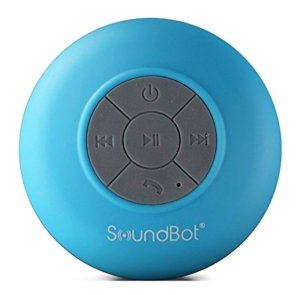 SoundBot® SB510 HD Water Resistant Bluetooth 3.0 Shower Speaker,