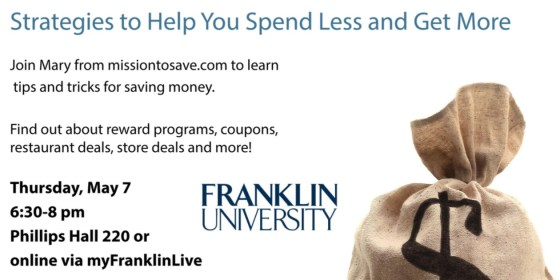 Franklin University Spend Less