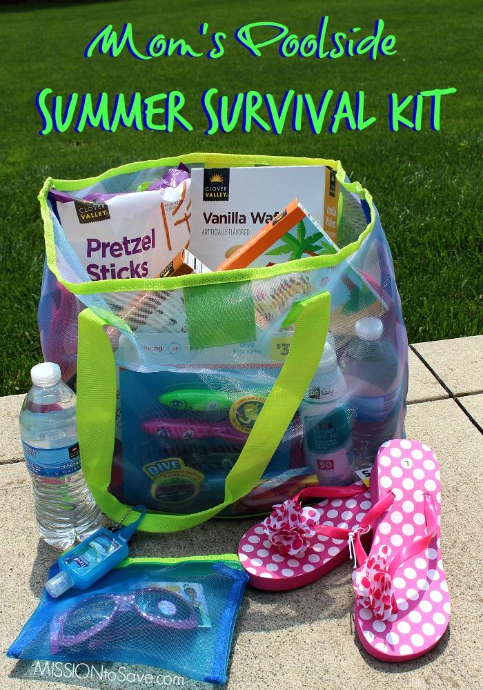 Mom's Poolside Summer Survival Kit from Dollar General