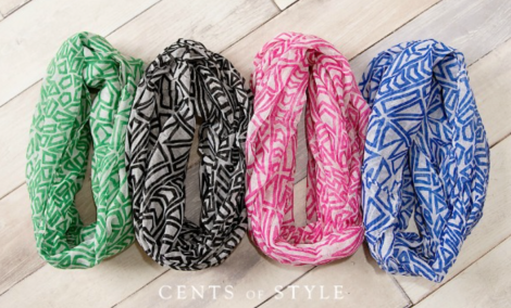Cents of Style Infinity Scarves Sale!