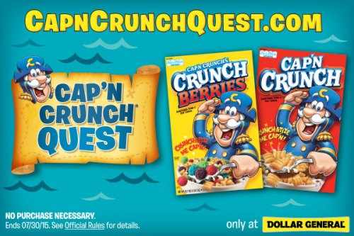 #CapnCrunchQuest  #collectivebias ad