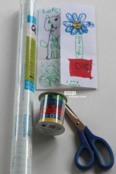 DIY Bookmark supplies