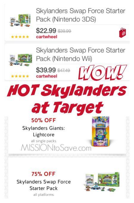 Hot Deals on Skylanders at Target