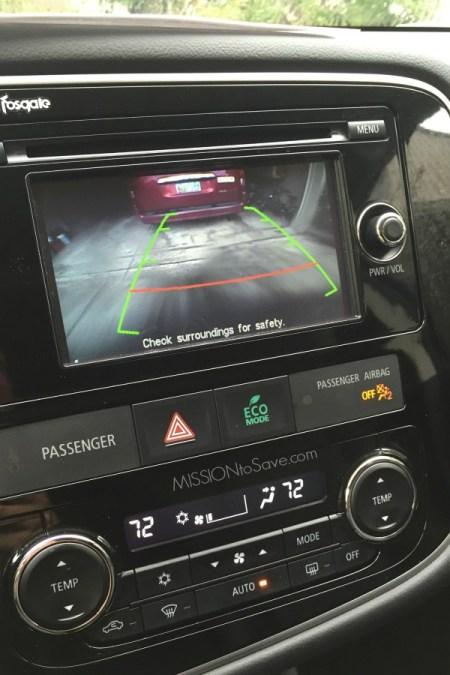 Mitsubishi Outlander back up camera