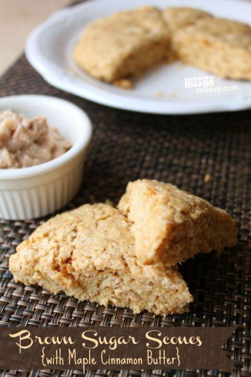 brown sugar scones recipe